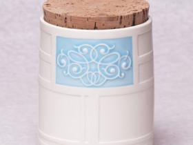 porcelain storage canister