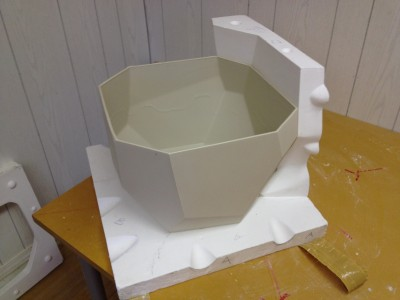 Recent client project. Model, 6 part master mould.