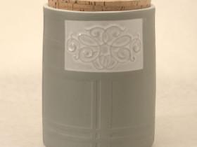 Coloured Slip Store Jar