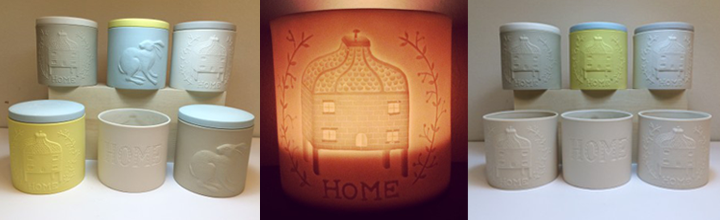 New pieces: 'Home & Hare' lanterns & small containers