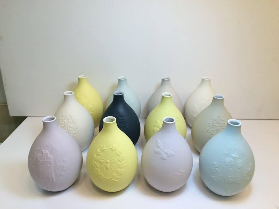 New colour Egg Vases for a single stem or for the eyes delight alone!