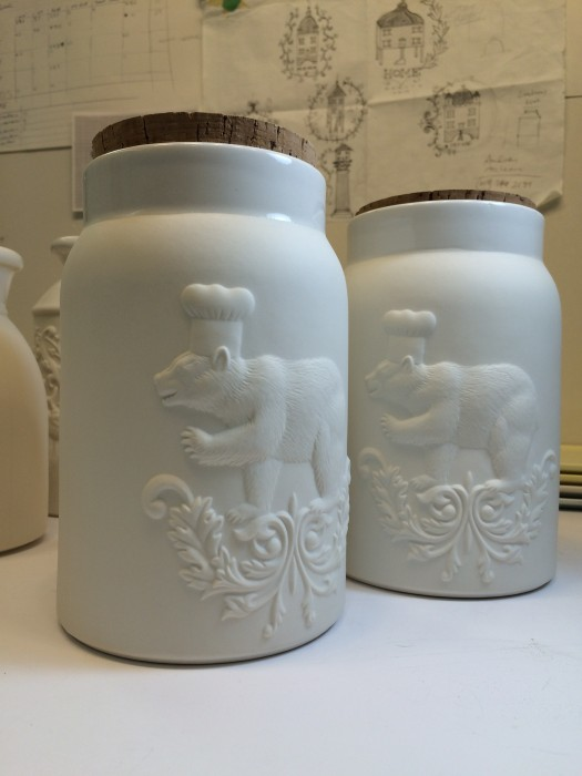 Bear cookie jars