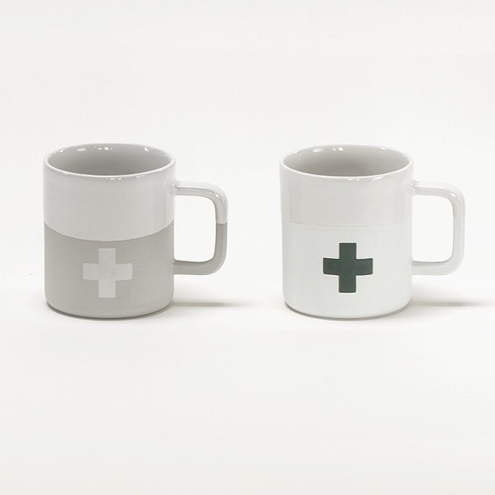 NEW: clean, light and lovely in the hand: the Cabin Vibe mug range